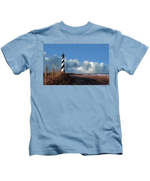 Cape Hatteras Lighthouse Nc Kids T-Shirt