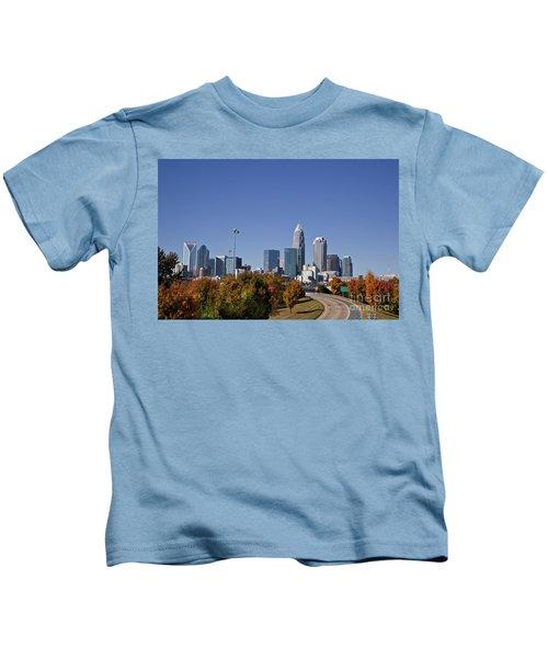 Charlotte North Carolina Kids T-Shirt