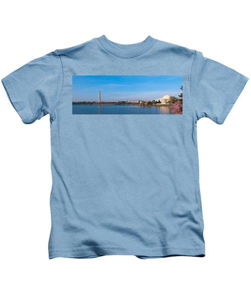 Cherry Blossoms At The Tidal Basin Kids T-Shirt