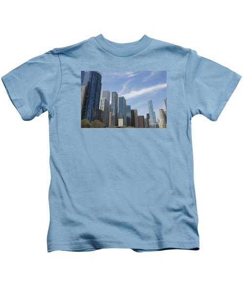 Chicago Skyscrapers Kids T-Shirt