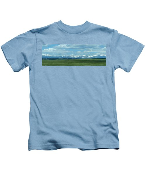 Collegiate Peaks Panorama Kids T-Shirt