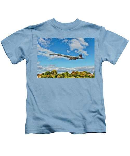 Concorde On Finals Kids T-Shirt