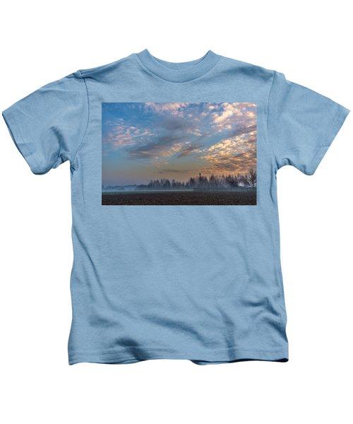 Crawling Mist Kids T-Shirt