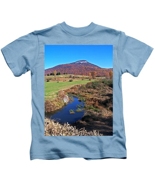 Creek In The Valley Kids T-Shirt