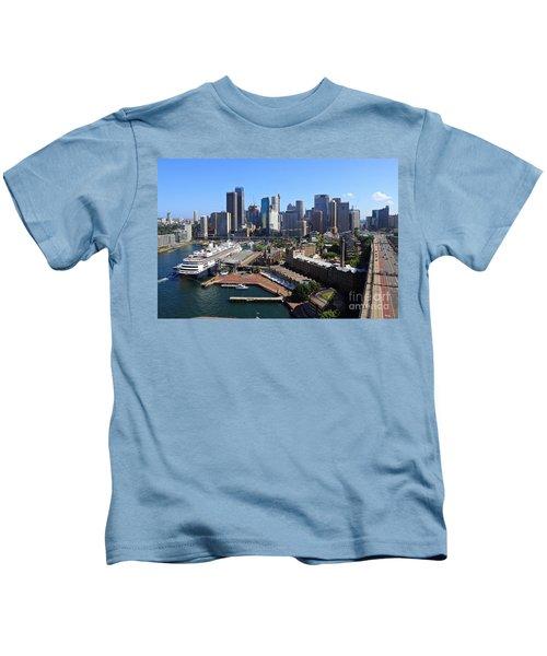 Cruiser Ship In Sydney Kids T-Shirt