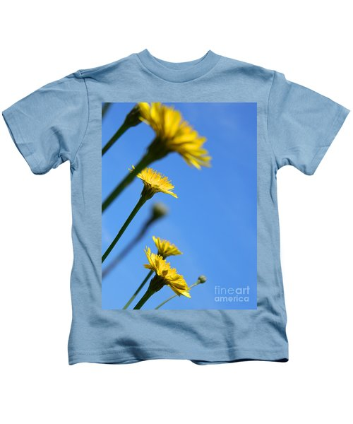 Dancing With The Flowers Kids T-Shirt