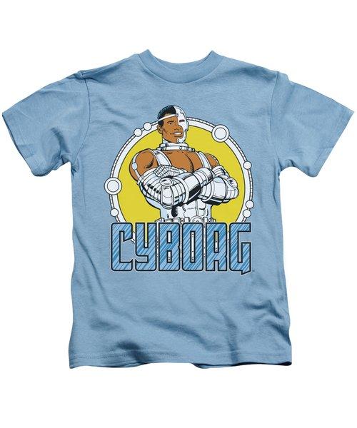 Dc - Cyborg Kids T-Shirt