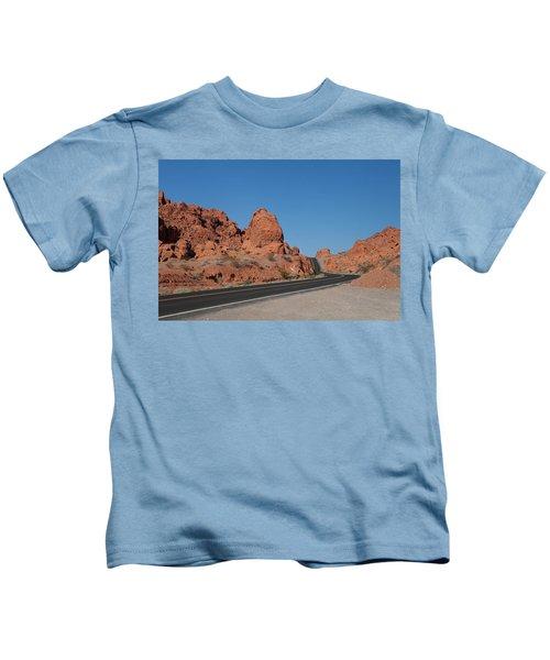 Desert Rock Formations Kids T-Shirt