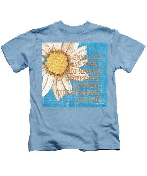 Dictionary Florals 4 Kids T-Shirt