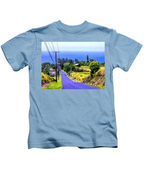 Down Into Honokaa Kids T-Shirt