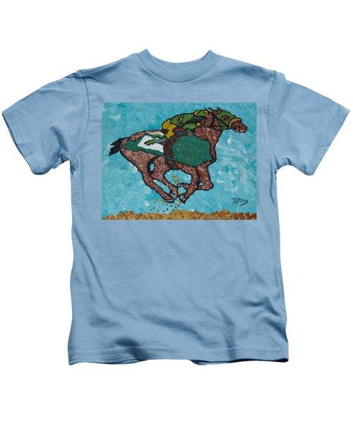Down The Stretch Kids T-Shirt