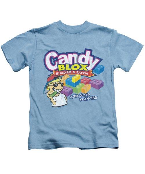 Dubble Bubble - Candy Blox Kids T-Shirt