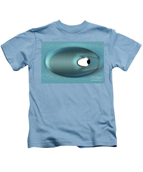 Eagerman Blue Kids T-Shirt