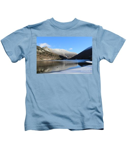 Echo Lake Franconia Notch Kids T-Shirt