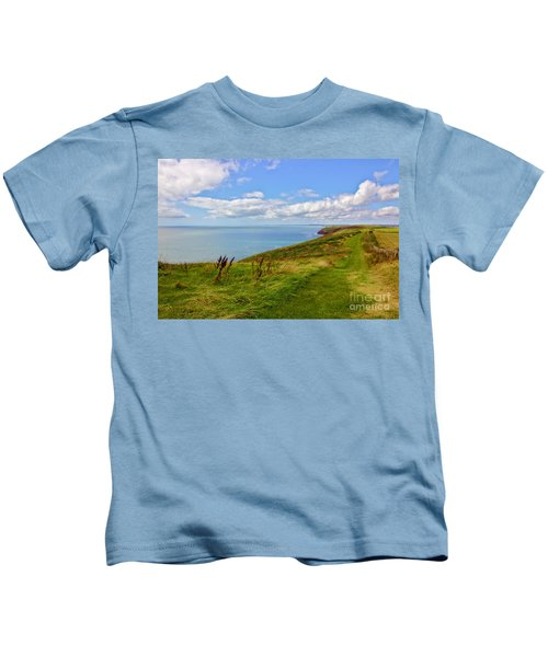 Edge Of The World Kids T-Shirt