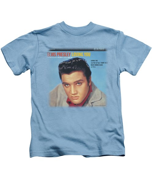 Elvis - Loving You Soundtrack Kids T-Shirt