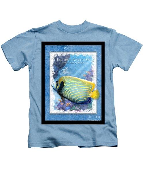 Emperor Angelfish Kids T-Shirt