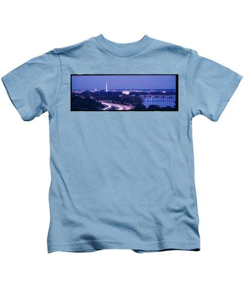 Evening Washington Dc Kids T-Shirt