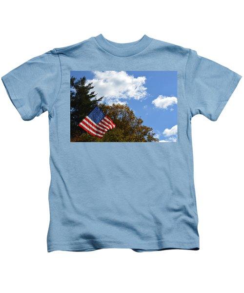 Fall Flag Kids T-Shirt