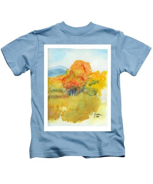 Fall Trees 2 Kids T-Shirt