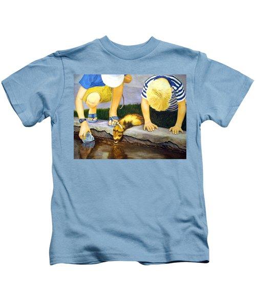 Ferret And Friends Kids T-Shirt