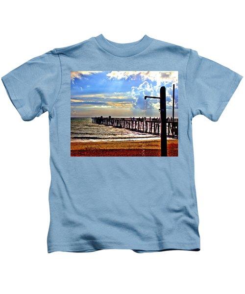 Flagler Pier Heaven Kids T-Shirt
