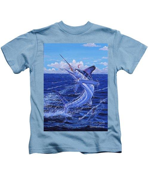 Flat Line Off0077 Kids T-Shirt