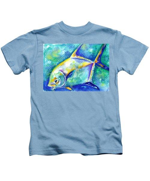 Florida Keys Permit Kids T-Shirt