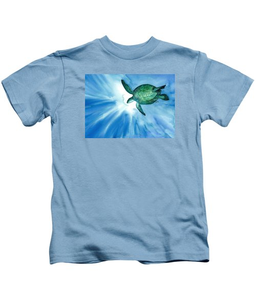 Sea Tutrle 2 Kids T-Shirt