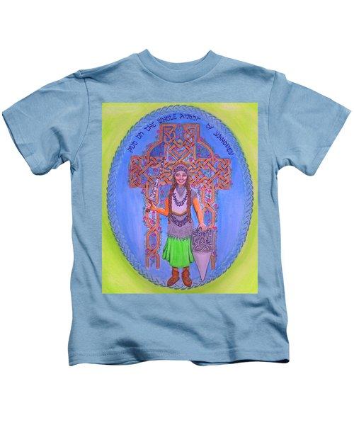 Full Armor Of Yhwh Woman Kids T-Shirt