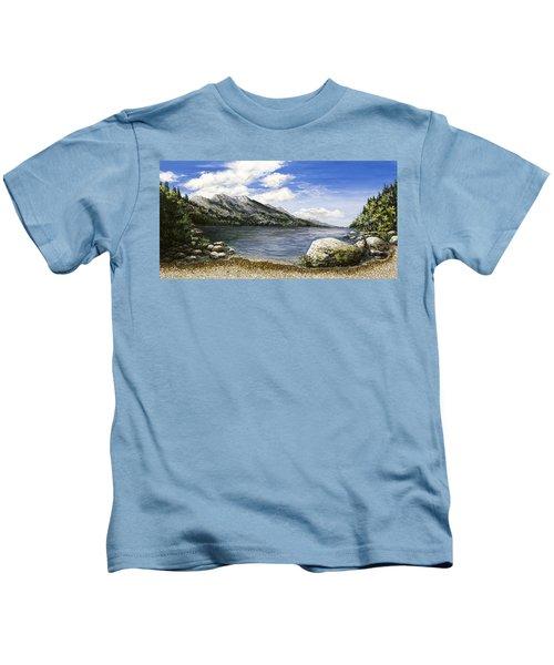 Gathering Moss Kids T-Shirt