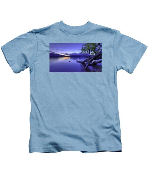 Glacier Blue Kids T-Shirt