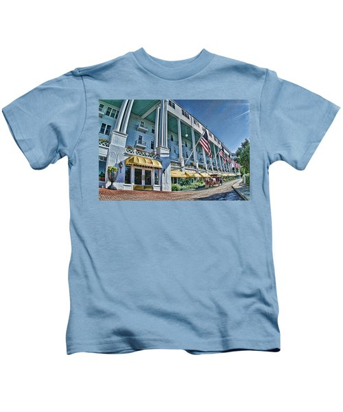 Grand Hotel - Image 001 Kids T-Shirt