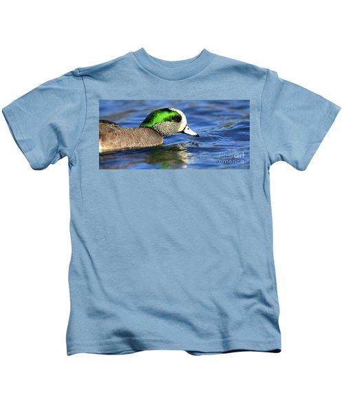 Green Illumination Kids T-Shirt