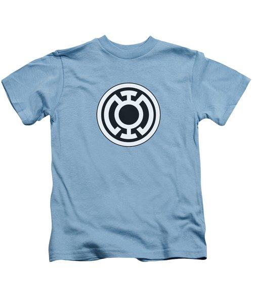Green Lantern - Blue Lantern Logo Kids T-Shirt