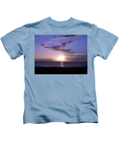 Greyhound In The Sky Kids T-Shirt