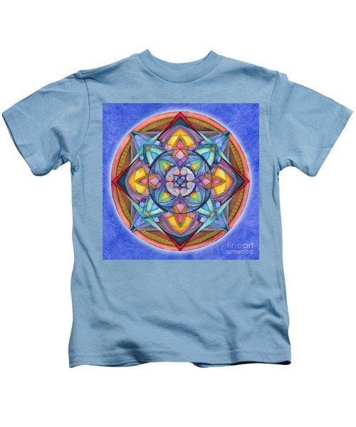 Harmony Mandala Kids T-Shirt