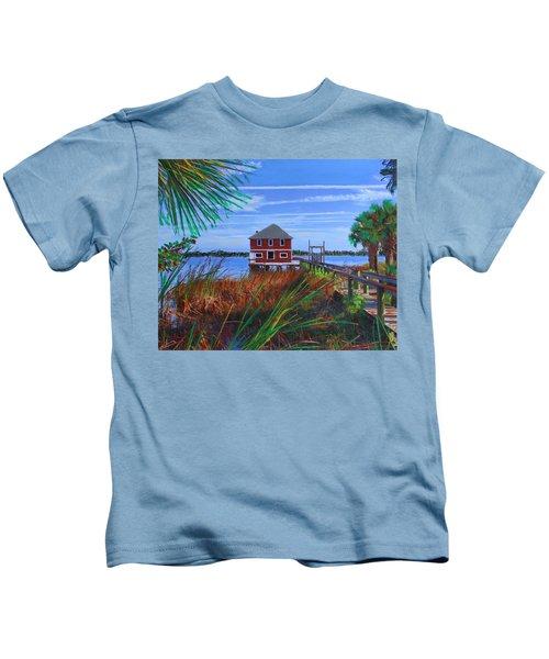 Historic Ormond Boathouse Kids T-Shirt