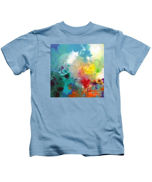 Holding The High Watch Canvas One Kids T-Shirt
