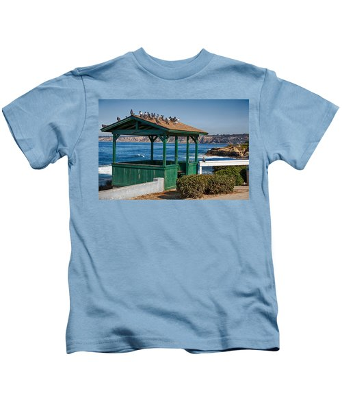 Home By The Sea Kids T-Shirt