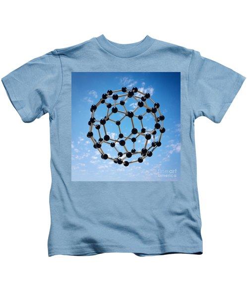Hovering Molecule Kids T-Shirt