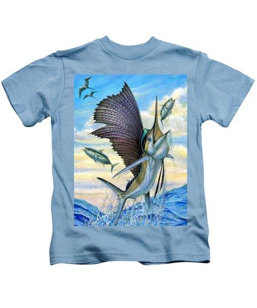 Hunting Of Small Tunas Kids T-Shirt