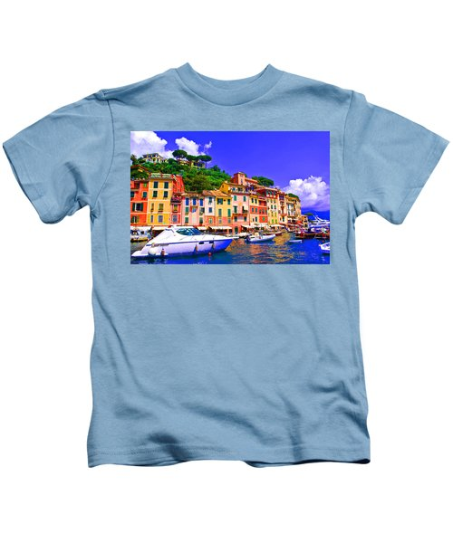 Impressionistic Photo Paint Gs 012 Kids T-Shirt
