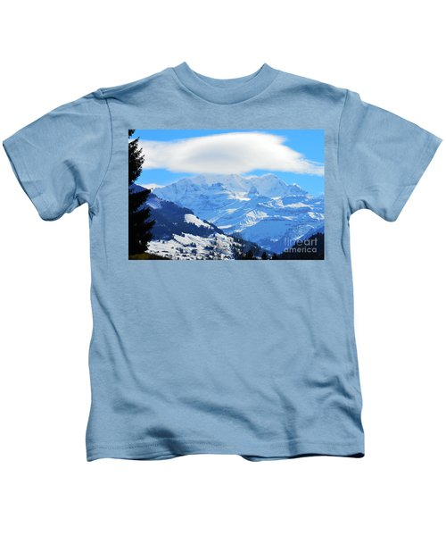 In The Snow Realm Kids T-Shirt