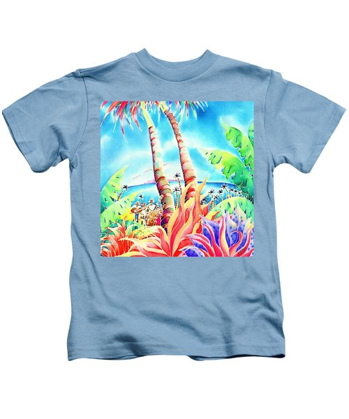 Island Of Music Kids T-Shirt