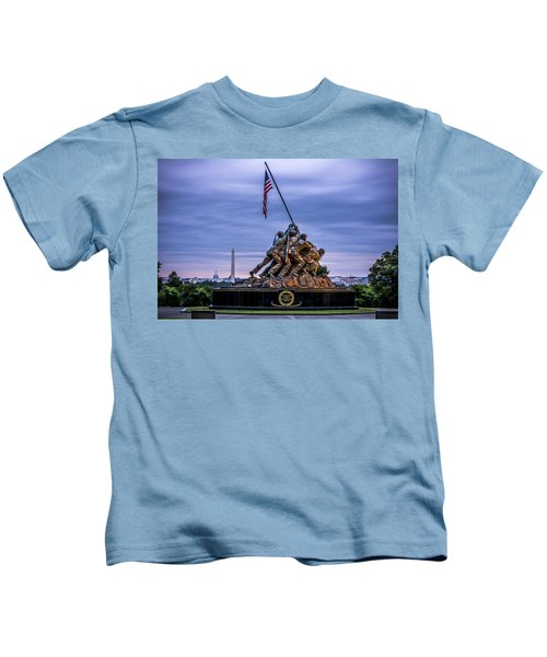 Iwo Jima Monument Kids T-Shirt