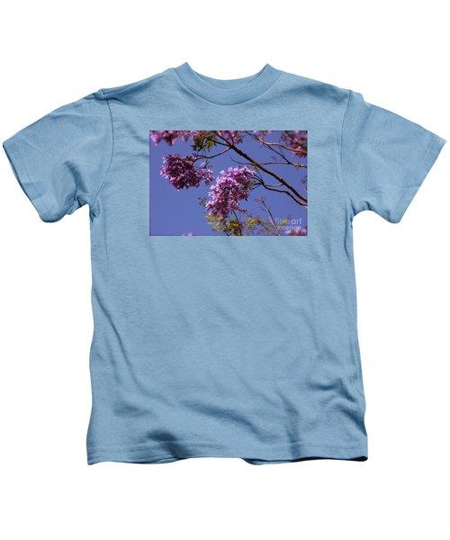 Jacaranda Blooms Kids T-Shirt