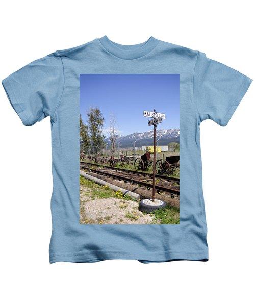 Kalispell Crossing Kids T-Shirt