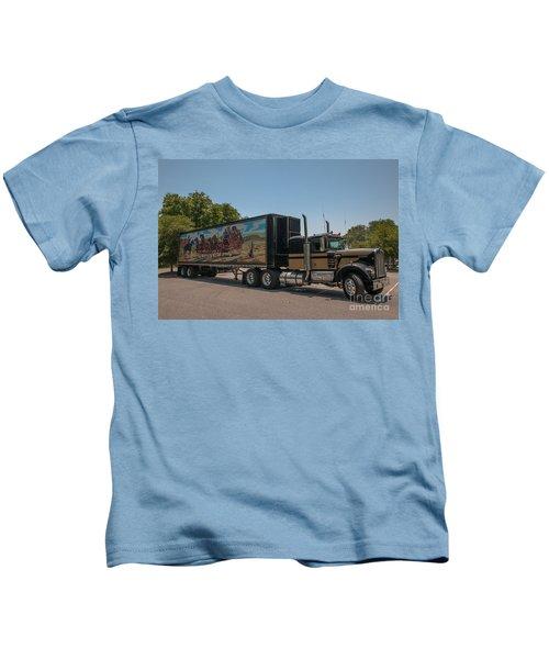 Keep Those Wheels A Truckin Kids T-Shirt
