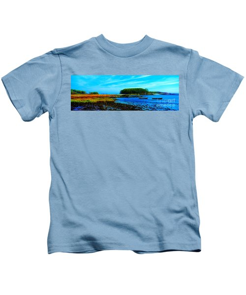 Kennebunkport  Vaughn Island  Kids T-Shirt